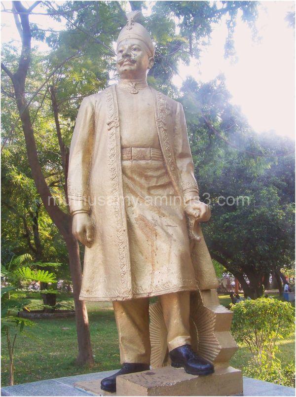 Panagal Raja Statue, Panagal Park, T.Nagar Chennai
