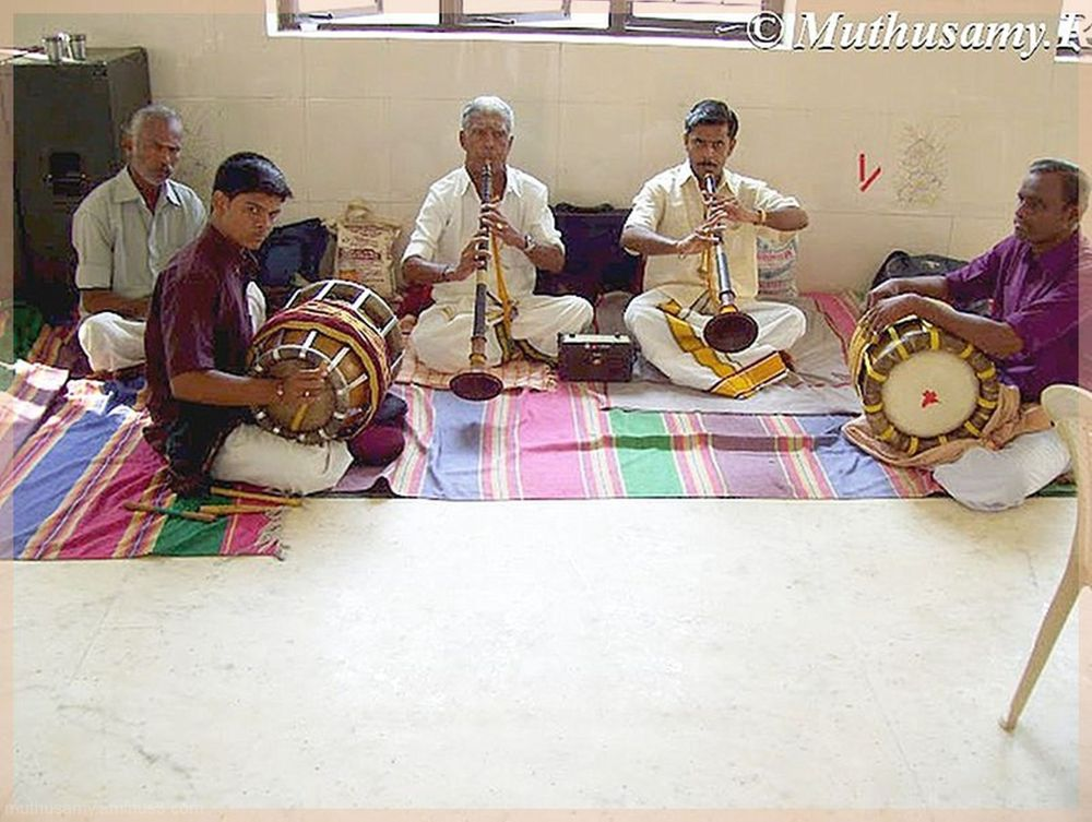 Nadaswaram and Thavil Intrumental Music of India