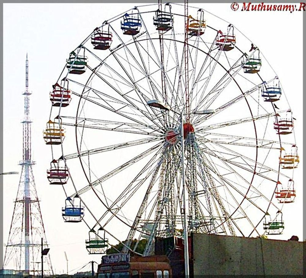Giant Wheel Amusement at ITI Trade Fair Chennai