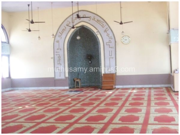 Interior of Thousand Light Mosque Chennai