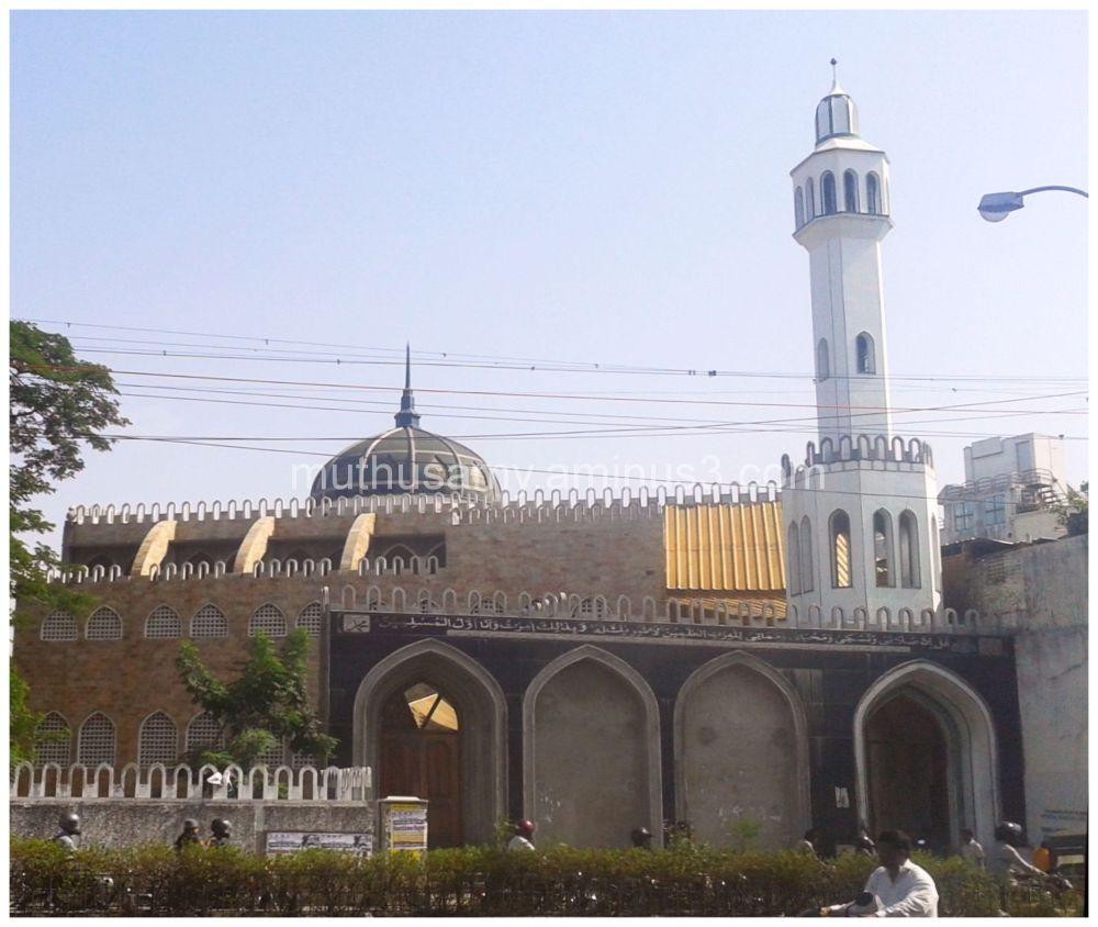 Bahram Jung Mosque, Nandanam, Chennai