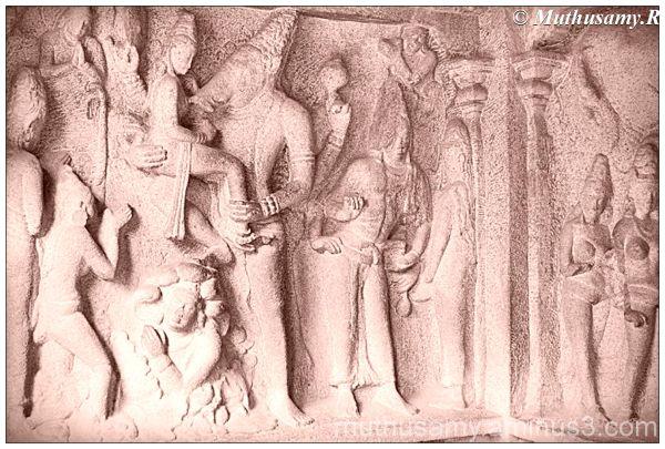 Bhuvaraha Panel, Varaha Cave, Mahabalipuram (3)