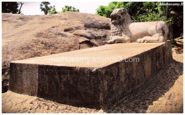 Lions Seat (Simhasana), Mahabalipuram (15)