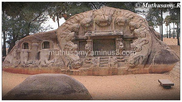 Tiger Cave (Yali Mantapa) Mahabalipuram (15)