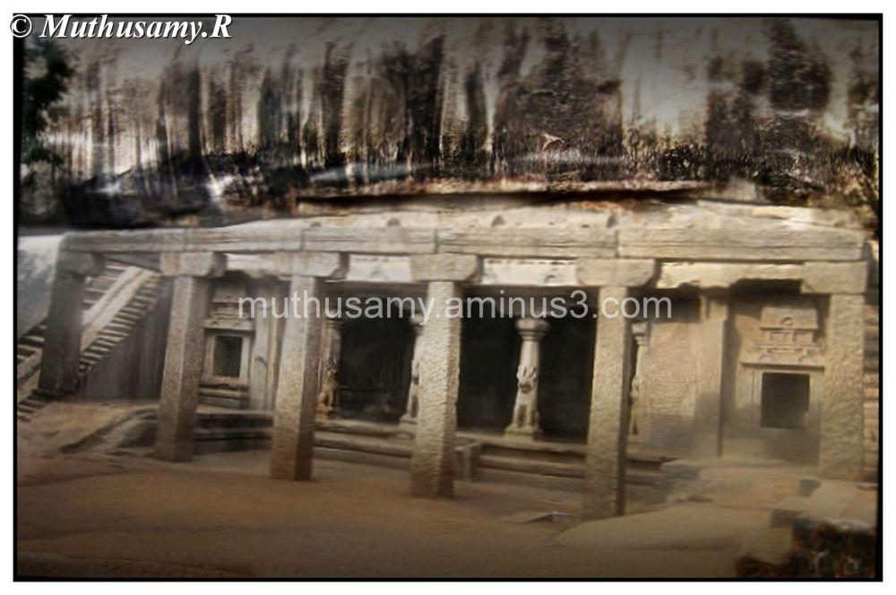 Ramanuja Mandapa Rock cut cave, Mahabalipuram (18)