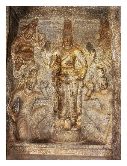 Vishnu Sanctum, Trimurti Cave, Mahabalipuram (22)
