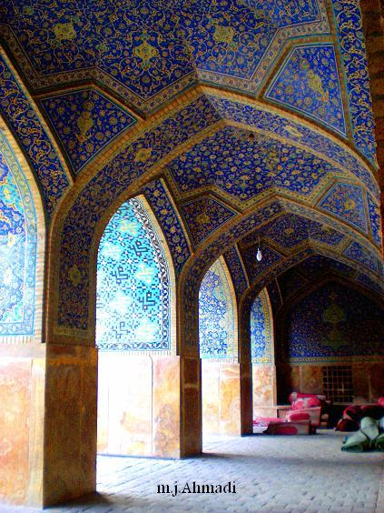Imam Mosque in Isfahan, Iran