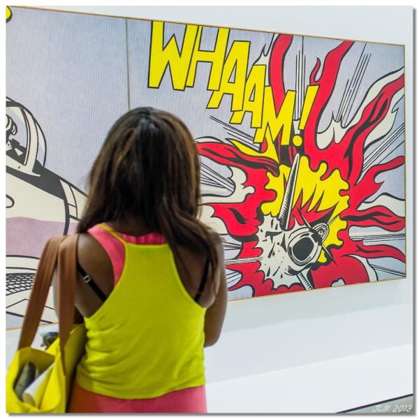 Roy Lichtenstein WHAAM