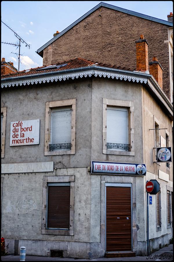 Café du bord de Meurthe