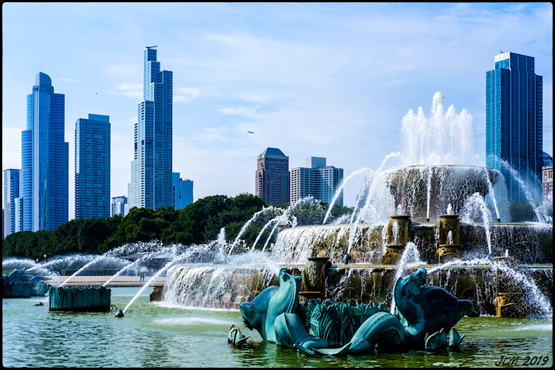Fujifilm X-Pro2 Chicago Buckingham Fountain