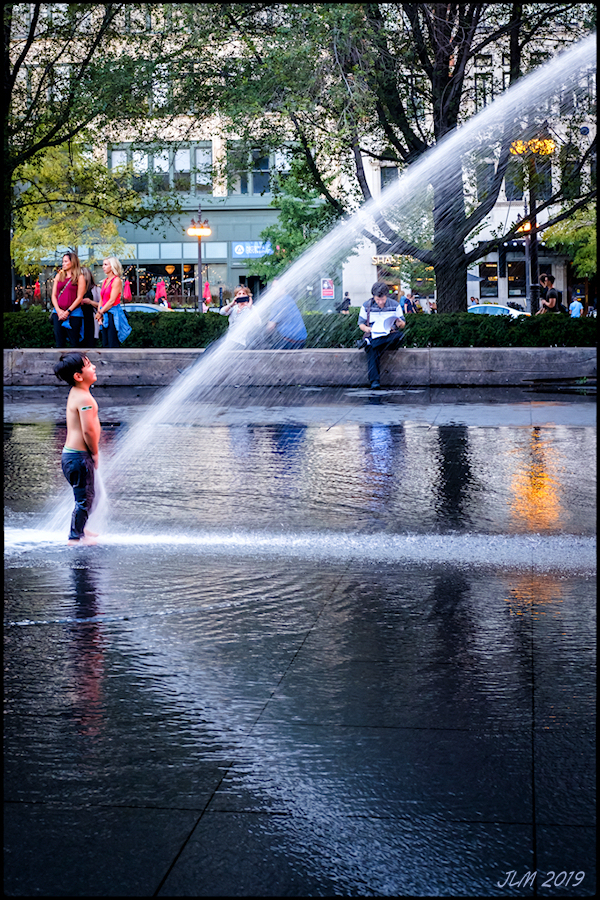 Jaume Plensa Crown Fountain X-Pro2 Chicago