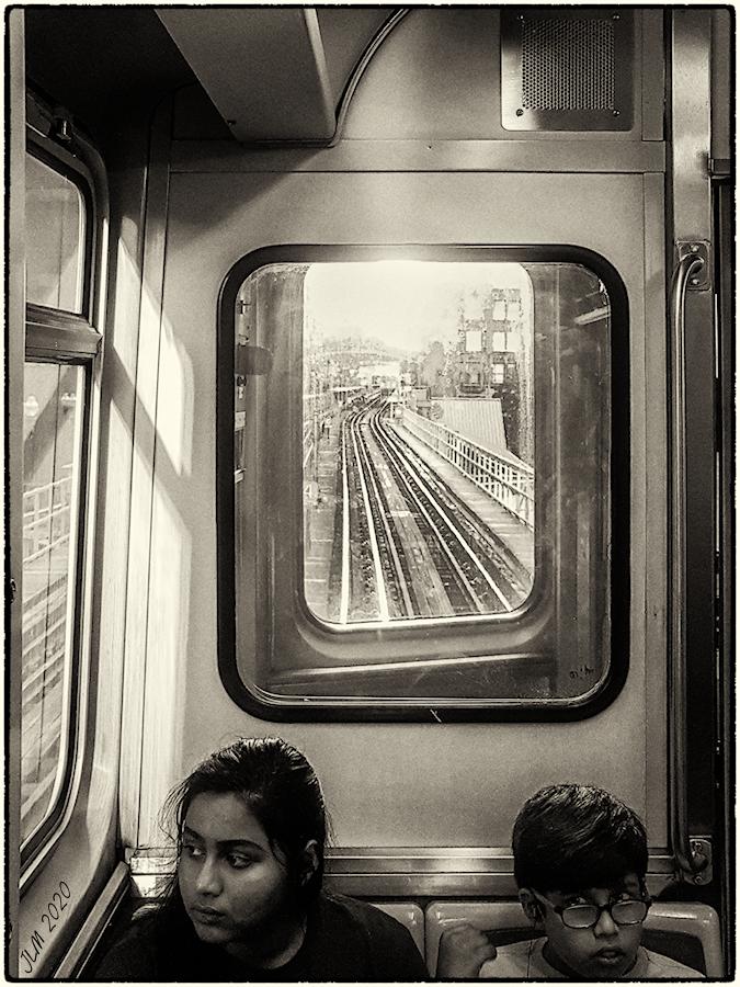 One week in Chicago (XXXIII), Subway