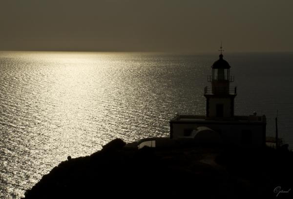 Phare d'Akrotiri ( Les Cyclades - Grèce )