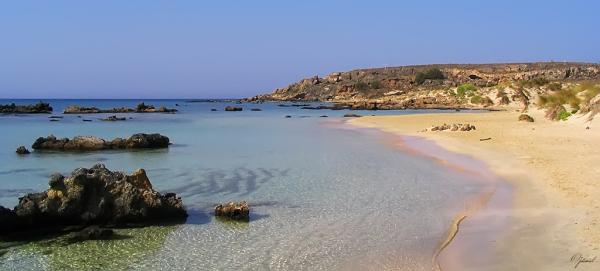 Elafonissi beach ( Crète )
