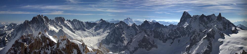 Dans le Massif du Mont Blanc