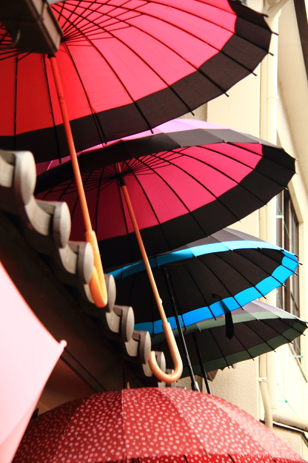 Umbrellas for the roof