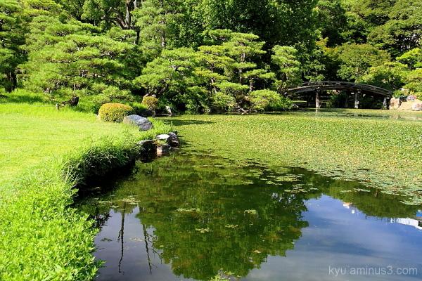 Garden in Kikokutei
