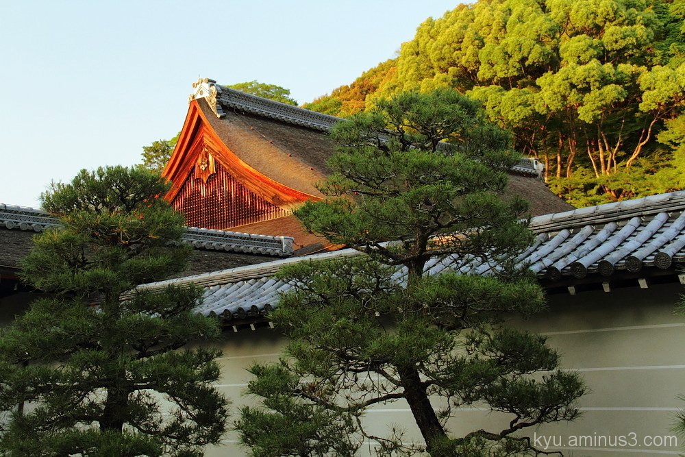 Just before the sunset at Nanzenji Temple