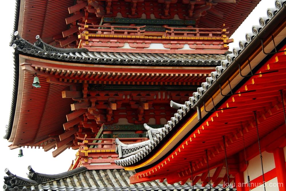 Going straigh to the pagoda