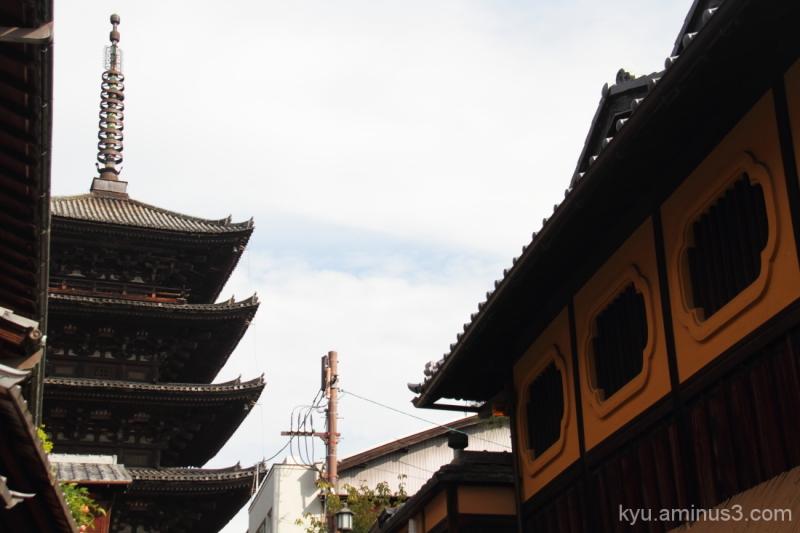 The pagoda of Yasaka