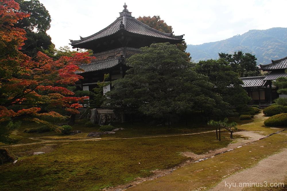 At Rokuoin's garden