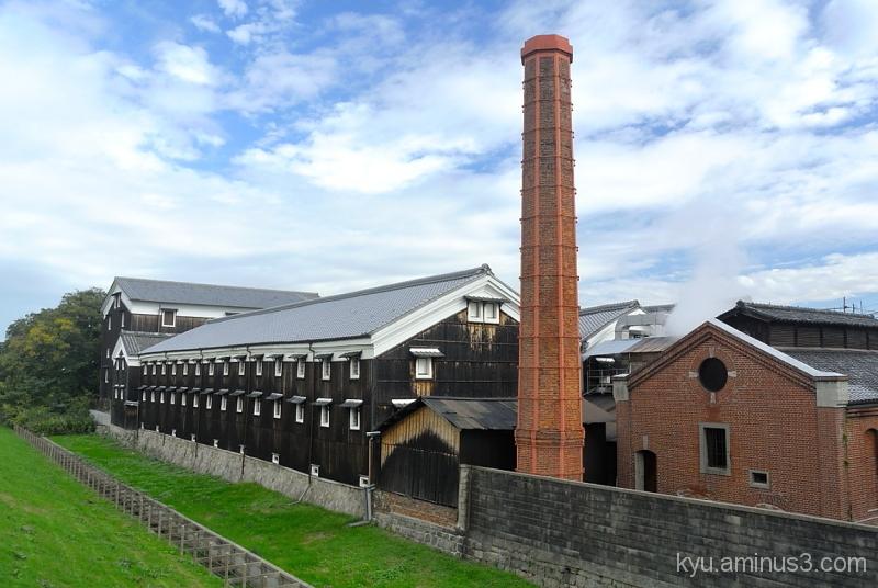 The old sake brewery in Fushimi