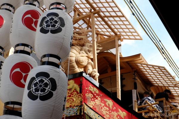 Gion-Festival float Ohfunaboko Kyoto