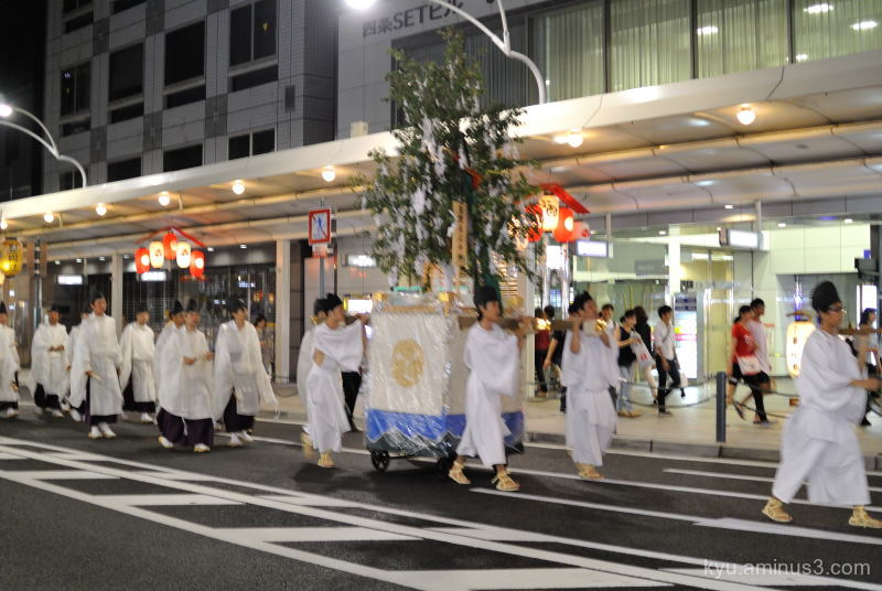 Gion-Festival night parade Kyoto