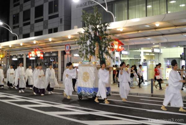 Gion-Festival night parade Kyoto