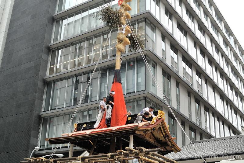 Gion-Festival float Naginataboko Kyoto