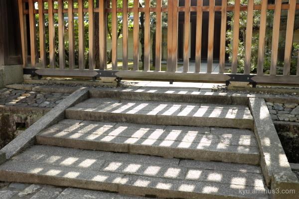 afternoon shadow Myoshinji temple Kyoto