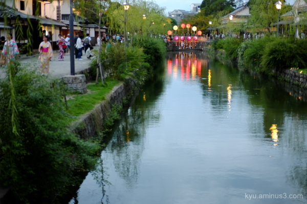 historical-streetscape festival Kurashi
