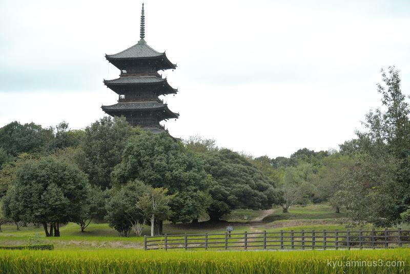 Pagoda Bicchukokubunnji Temple Kibi Okayama