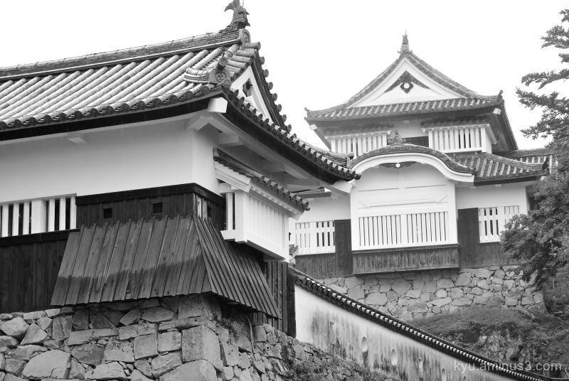 Bitchū-Matsuyama-Castle Takahashi Okayama mono