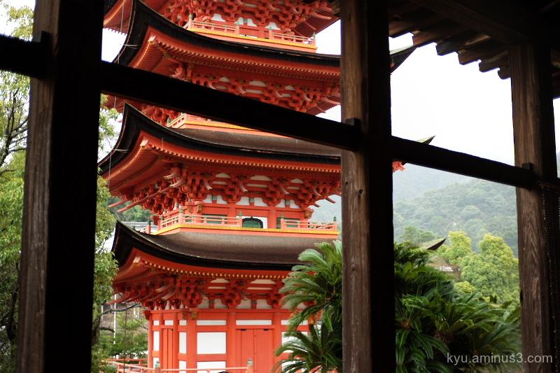 pagoda Senjojiki Miyajima Hiroshima