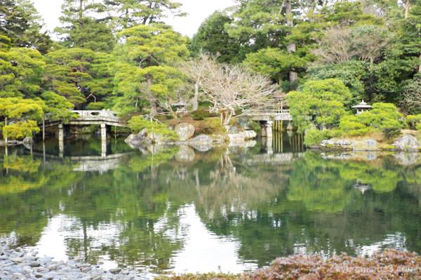 Oikeniwa-Garden Gosho Kyoto-Imperial-palace Kyoto