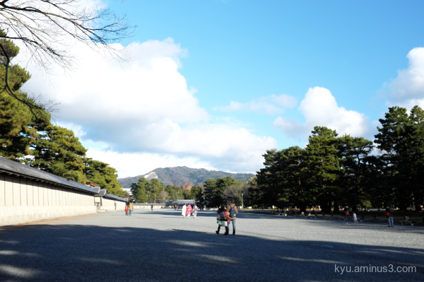 spring walk gosho Imperial-Place Kyoto