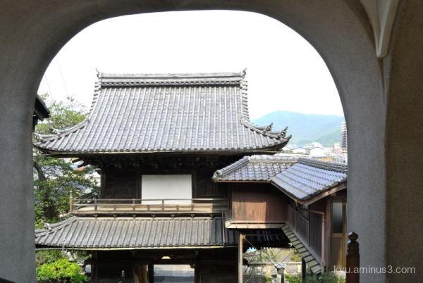 framing temple Keirinji Kyoto
