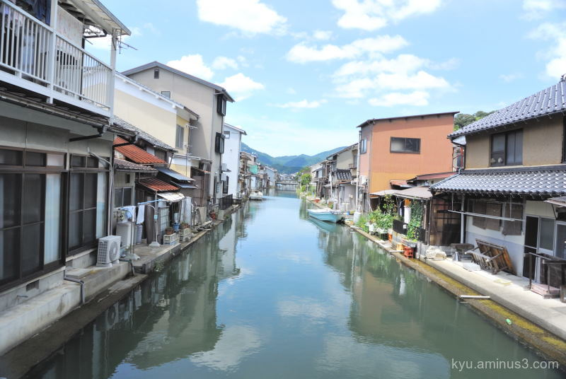 canal port Kyoto