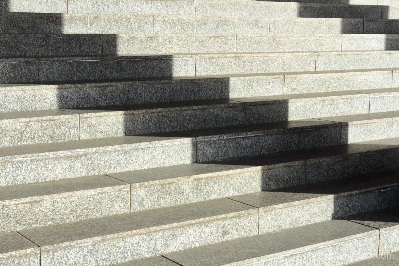 zigzag shadows Chishakuin temple Kyoto