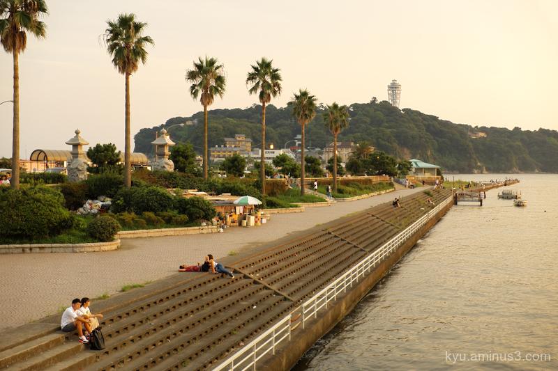 Sunset Enoshima Kanagawa