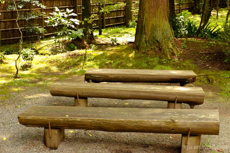 seats Jyochiin temple Kanakura Kanagawa