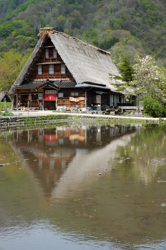 rural thatched-roof-houses Suganuma Toyama