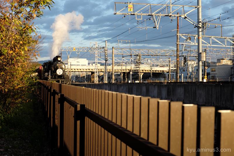 Locomotive Umekoji Park Kyoto