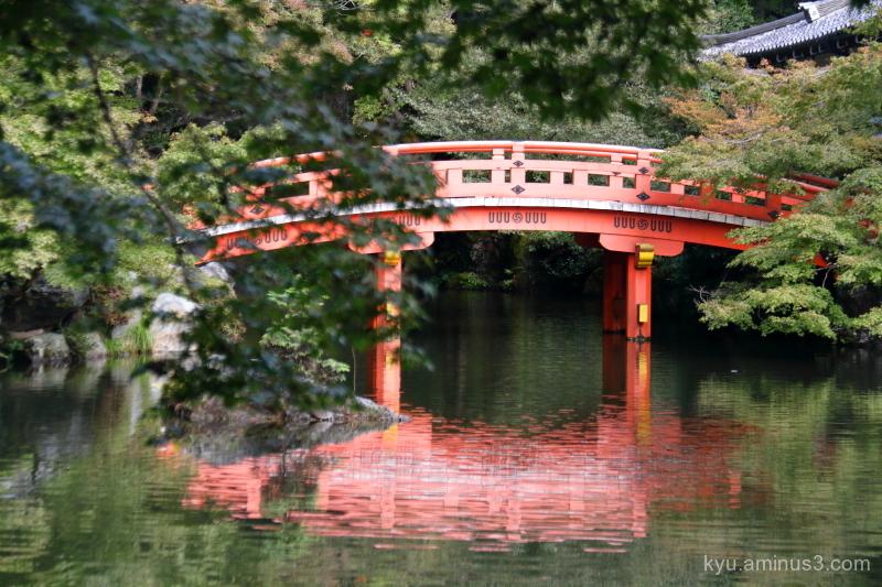 quietness Daigoji temple Kyoto