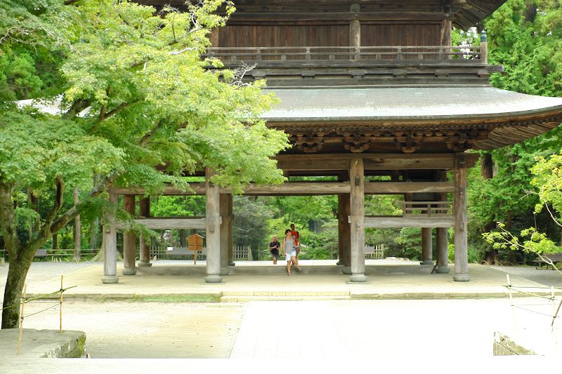 quietness Enkakuji temple Kamakura Kanagawa