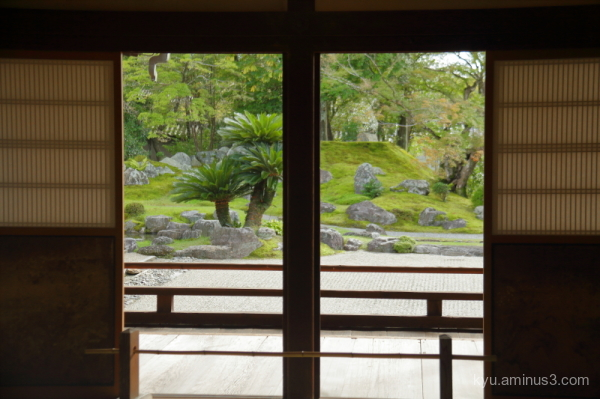 doors garden Daigoji temple Kyoto