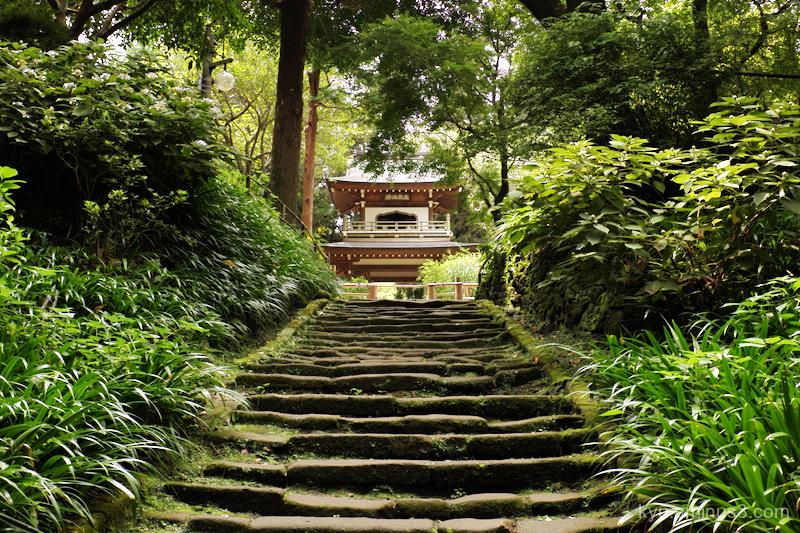 steps jyochiin temple Kamakura Kanagawa