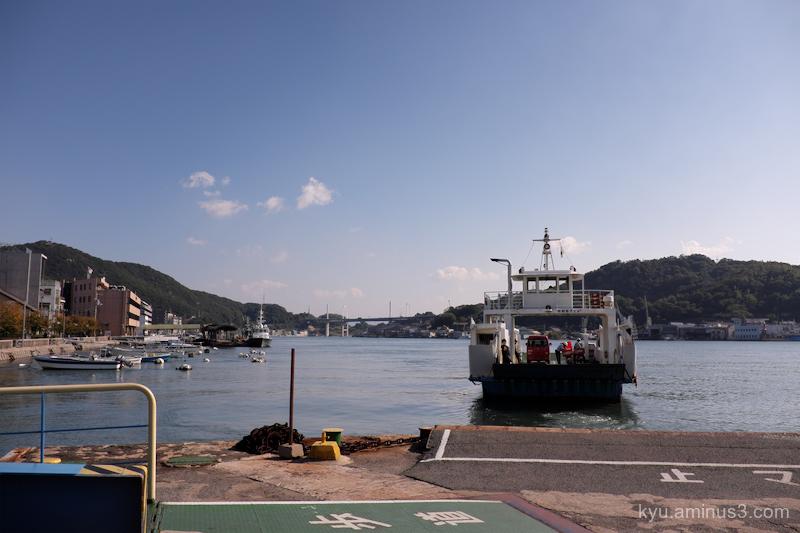 ferry port Onomichi Hiroshima