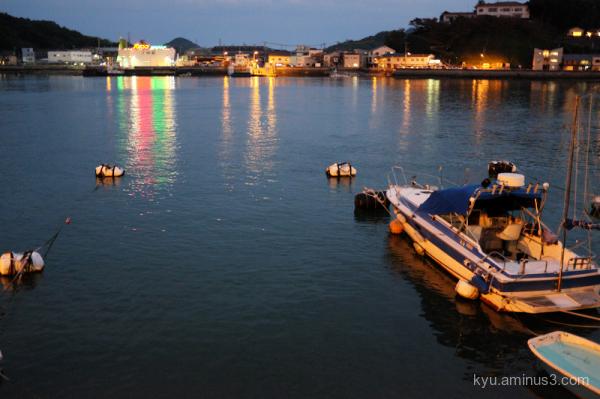 evening-view Onomichi Hiroshima
